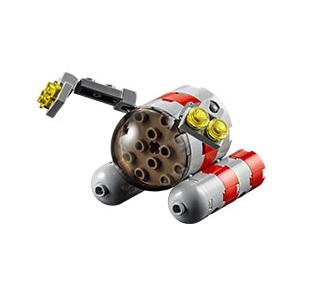 LEGO Submarine December 2015 Mini Model Build