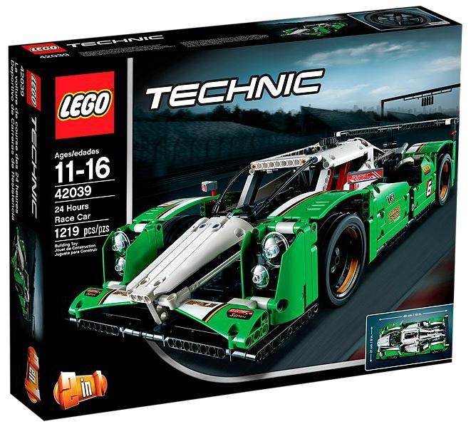 LEGO Technic 42039 24 Hours Race Car - Toysnbricks
