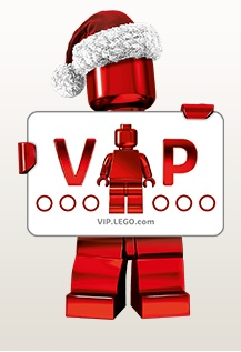 LEGO VIP Minifigure Logo Holiday Christmas