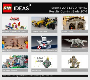Second 2015 LEGO Ideas Creation Review