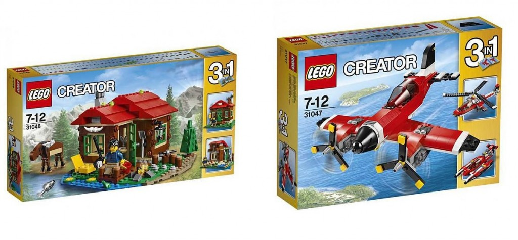 2016 LEGO Creator Theme Sets 31048 31047