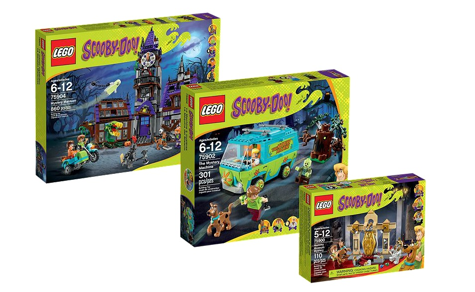 5004810 LEGO Scooby-Doo Collection 75900 Mummy Museum Mystery, 75902 The Mystery Machine and 75904 Mystery Mansion - Toysnbricks