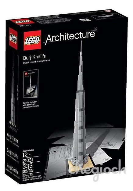 LEGO Architecture 21031 Burj Khalifa (Pre)