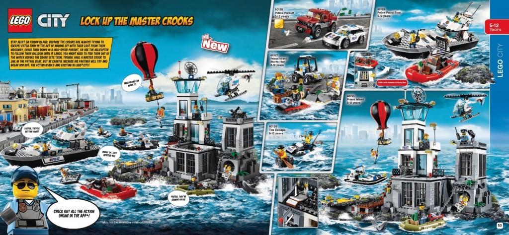 LEGO City 60130 60129 60128 60127 60126 January Catalog Set Pictures