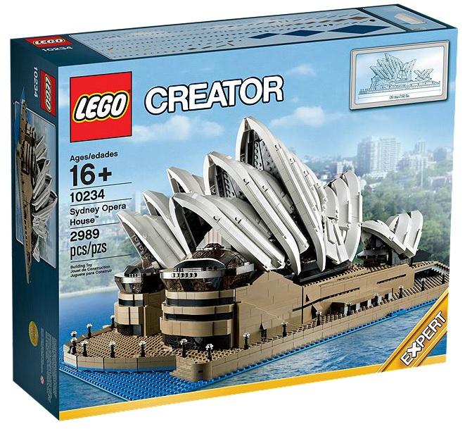 LEGO Creator Expert 10234 Sydney Opera House - Toysnbricks