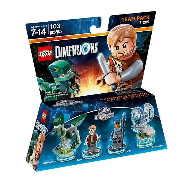 LEGO Dimensions Juarrasic World Team Pack 71205 - Toysnbricks