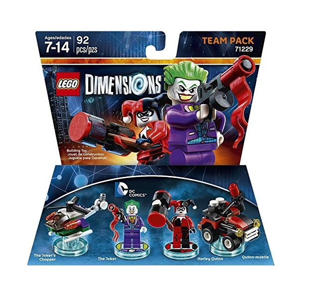 LEGO Dimensions Team Pack Super Heroes DC 71229 Joker & Harley Quinn - Toysnbricks