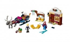 LEGO Disney Princess 41066 Anna & Kristoff's Sleigh Adventure - Toysnbricks