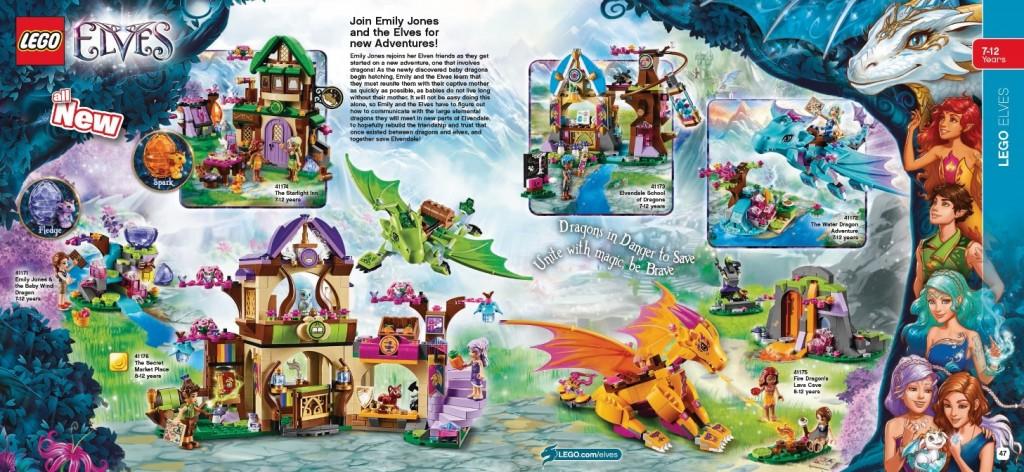 LEGO Elves 2016 Sets 41174 41171 41176 41173 41172 41175 January Catalog