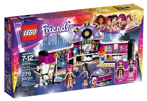 LEGO Friends 41104 Pop Star Dressing Room - Toysnbricks
