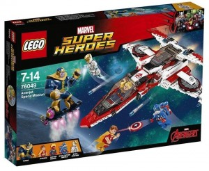LEGO Marvel Super Heroes 76049 Avenjet Space Mission (Pre2)