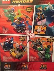LEGO Might Micros Mini Super Heroes Marvel Sets 76064 76065 76066