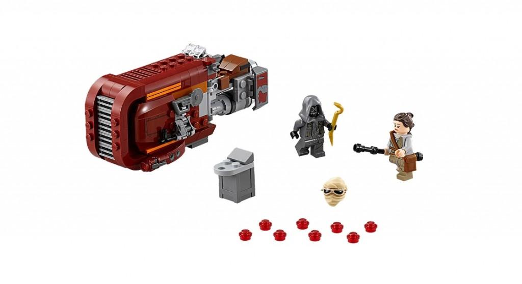 LEGO Star Wars 75099 Rey's Speeder - Toysnbricks