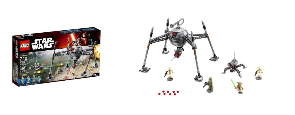 LEGO Star Wars 75142 Homing Spider Droid - Toysnbricks