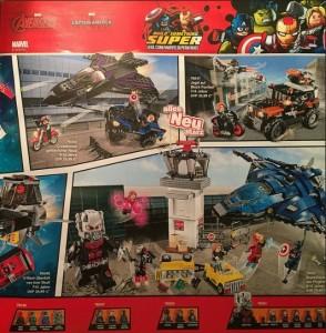 LEGO Super Heroes 76050 76051 76047 (2016 Marvel Captain America Sets)