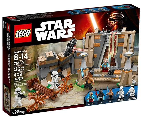 75139 LEGO Star Wars The Force Awakens Battle on Takodana - Toysnbricks