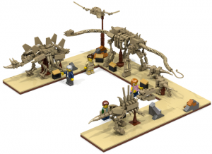 Fossil Museum by whatpumpkin Potential LEGO Ideas Creation Set
