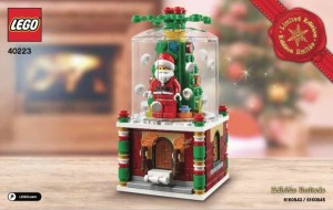 LEGO 40223 Christmas Ornament 2016 Holiday Set