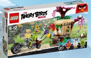 LEGO Angry Birds 75823 Bird Island Egg Heist - Toysnbricks