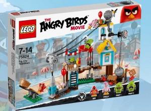 LEGO Angry Birds 75824 Pig City Teardown - Toysnbricks