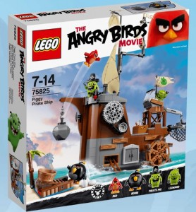 LEGO Angry Birds 75825 Piggy Pirate Ship - Toysnbricks