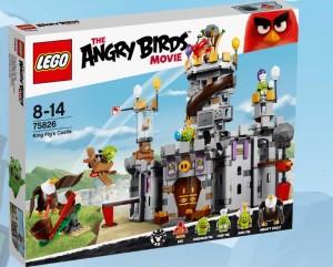 LEGO Angry Birds 75826 King Pig's Castle - Toysnbricks