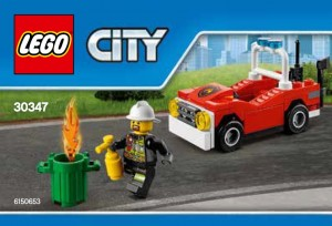 LEGO City 30347 Fire Car Polybag Set - Toysnbricks