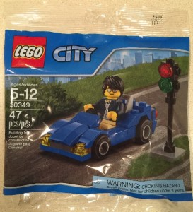 LEGO City 30349 Sports Car Polybag Set 47 pieces