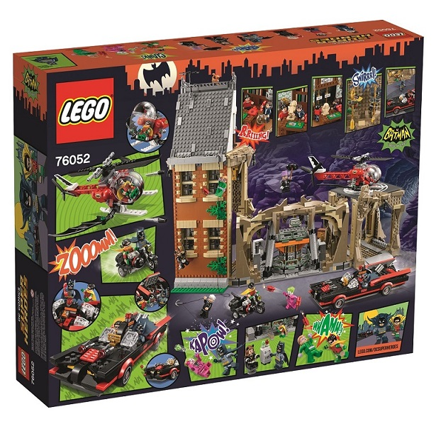 LEGO® Super Heroes Minifigure Classic Joker 2016 From Set 76052