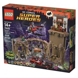 LEGO DC Comics Super Heroes 76052 Batman Classic TV Series - Batcave High Resolution 2 - Toysnbricks