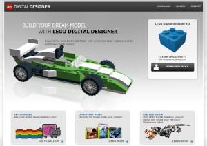 LEGO Digital Designer Microsite 2016