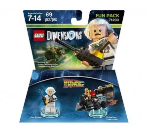 LEGO Dimensions 71230 Doc Brown Back to the Future Fun Pack - Toysnbricks