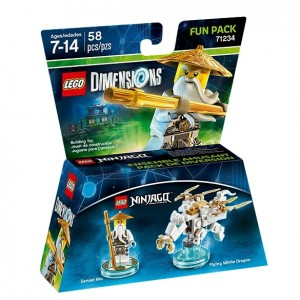LEGO Dimensions 71234 Sensei Wu Fun Pack - Toysnbricks