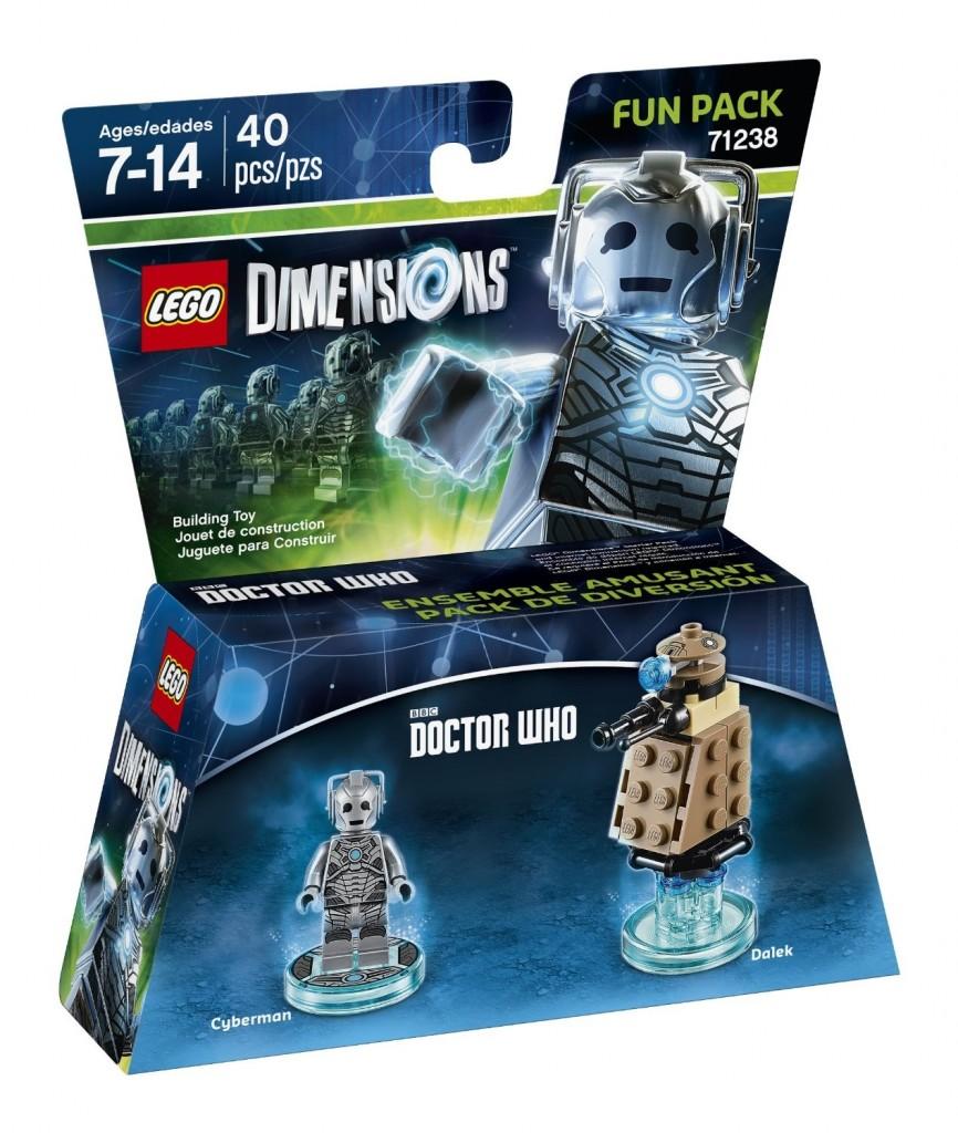 LEGO Dimensions 71238 Dr. Who Cyberman Fun Pack - Toysnbricks