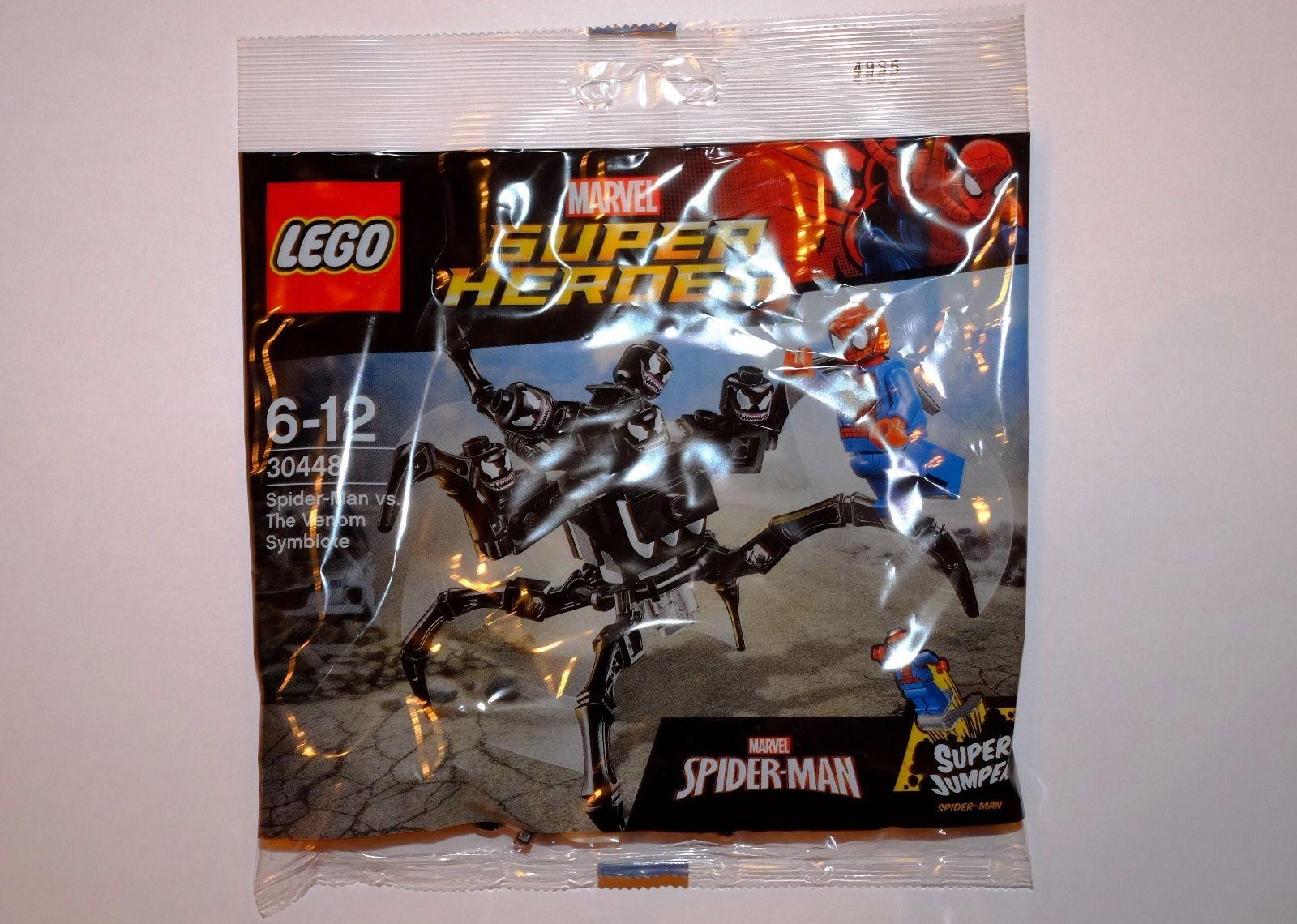 lego marvel super heroes 30448 spider man vs the venom symbiote polybag set