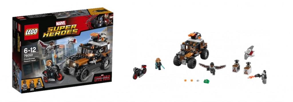 LEGO Marvel Super Heroes 76050 Crossbones' Hazard Heist