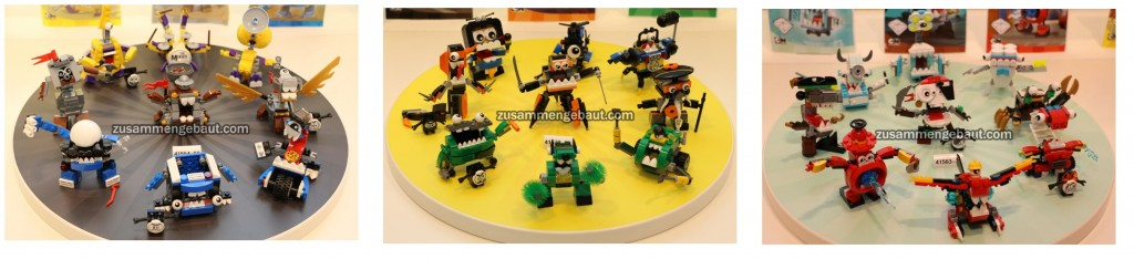 LEGO Mixels Series 7 Sets 2016 Blue, Green and Red German Toy Fair 2016