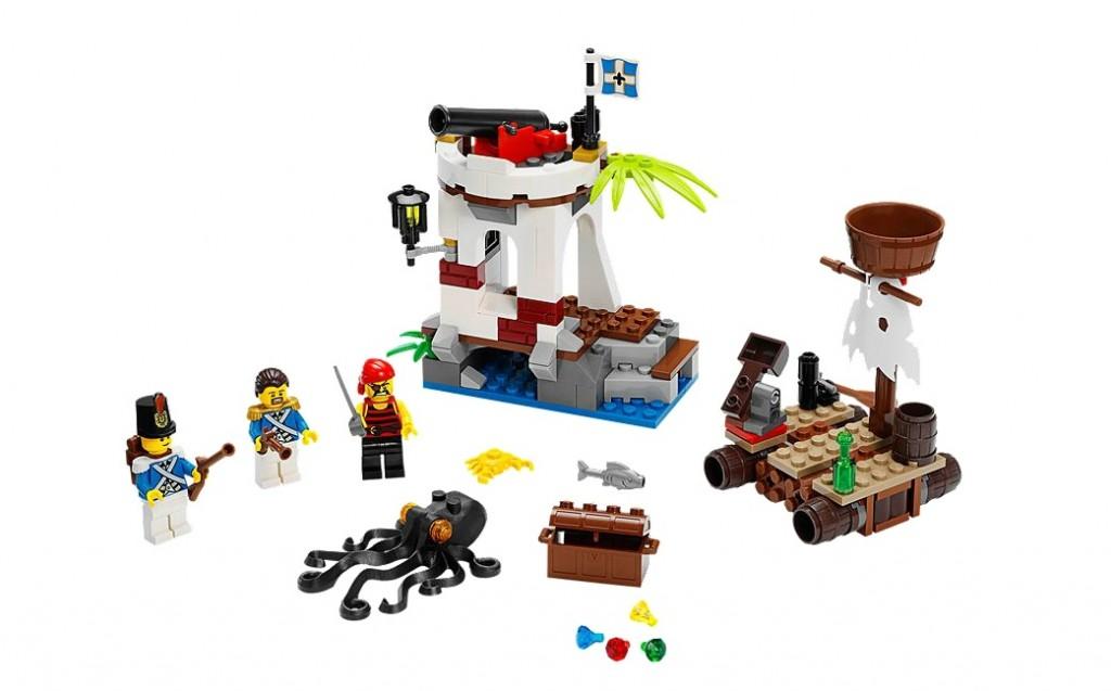 LEGO Pirates 70140 Soldiers Outpost - Toysnbricks