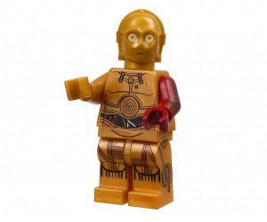 LEGO Star Wars 5002948 C-3PO Exclusive Minifigure ToysRUs