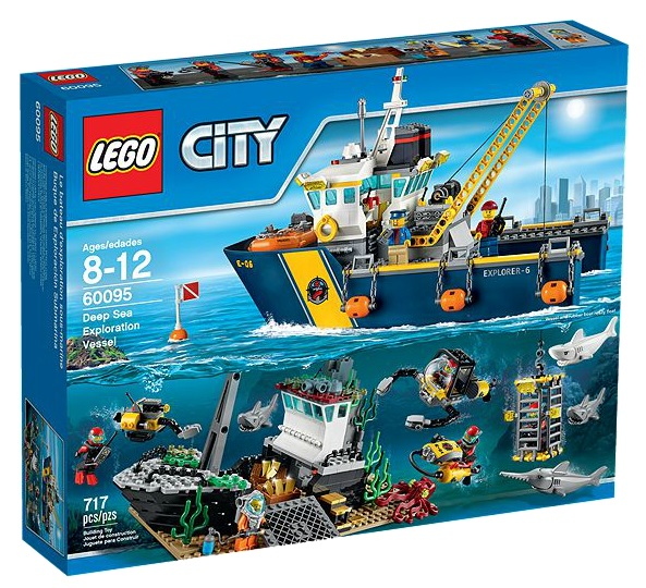 60095 LEGO City Deep Sea Exploration Vessel - Toysnbricks
