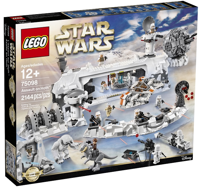 75098 LEGO Star Wars Assault on Hoth High Resolution - Toysnbricks