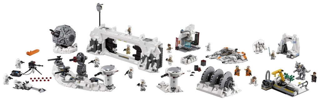 75098 LEGO Star Wars Assault on Hoth UCS Full Set High Resolution - Toysnbricks