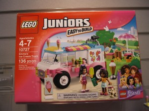 Duplo LEGO Juniors 10727 Emma's Ice Cream Truck Box NYTF Aug2016 - Toysnbricks