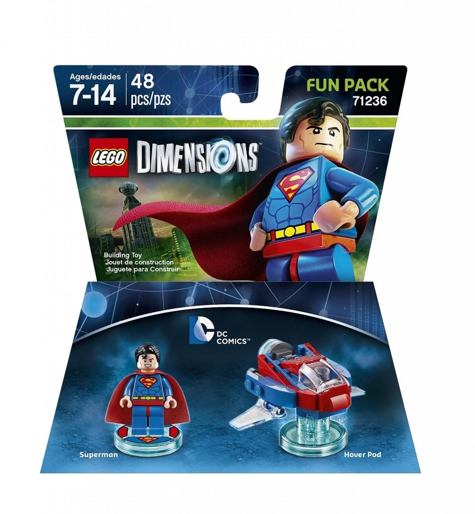 LEGO Dimensions 71236 Fun Pack Superman - Toysnbricks