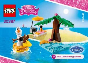 LEGO Disney Princess 30397 Olaf's Summertime Fun Polybag Set - Toysnbricks