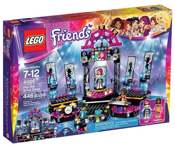 LEGO Friends 41105 Pop Star Show Stage - Toysnbricks