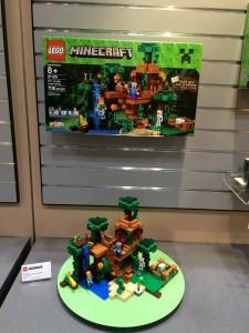 LEGO Minecraft 21125 The Jungle Tree House NYTF2016 - Toysnbricks