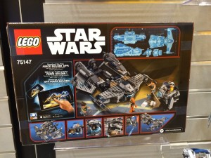 LEGO Star Wars 75147 Star Scavenger NYTF 2016 Back Box