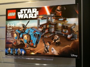 LEGO Star Wars 75148 Encounter on Jakku NYTF 2016