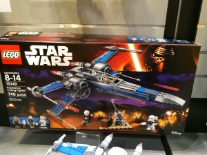 LEGO Star Wars 75149 Resistance X-Wing Fighter NYTF 2016